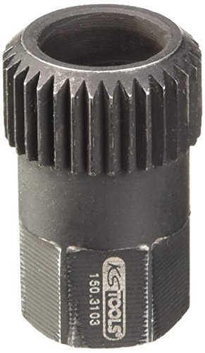 KS Tools 150.3103 - Chiave per puleggia, 15 mm, 33 denti, L 30 mm