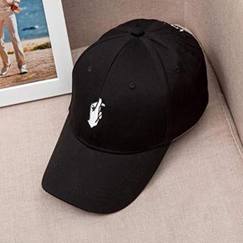 Baseballmütze 1Pcs Frühling Sommer Liebe Gesten Finger Stickerei Golf Baseball Cap Flipper Little Heart Liebe Sonne Truck Hut Gorras