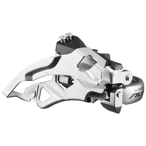Shimano Alivio FD-T4000 Umwerfer Top Swing 9-fach silber Ausführung 66-69° Kettenstrebenwinkel 2016 Mountainbike