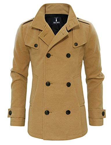 Tan Coat Men