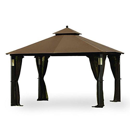 Garden Winds Grand Resort Audio Gazebo Replacement Canopy Top Cover - RipLock 350