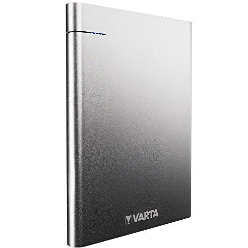 Varta Slim - Batería Externa portátil de Li-Polímero (18000 mAh, 2 Puertos...