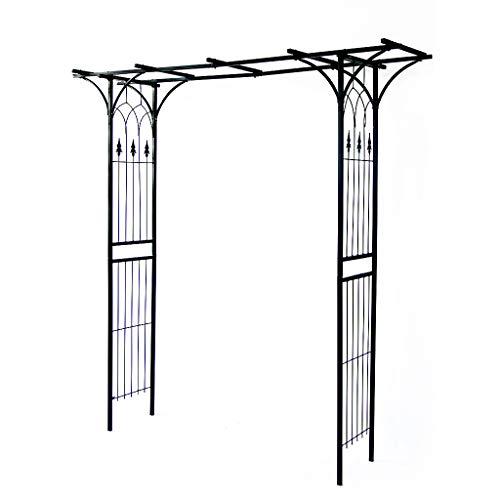 QLLL Arco del Jardin, Arco Resistente del Arte del Hierro, Usado para EI Patio de La Arcada de La Pérgola de Las Plantas Trepadoras