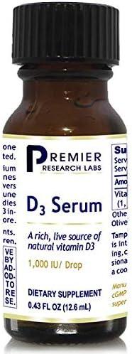 PREMIER RESEARCH Japan Maker New LABS - Serum Max 74% OFF D3 Oz 0.43