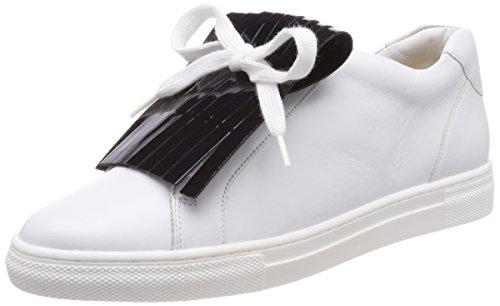 Hassia Damen Maranello, Weite G Sneaker, Weiß (Weiss/Ocean), 40 EU (6.5 UK)