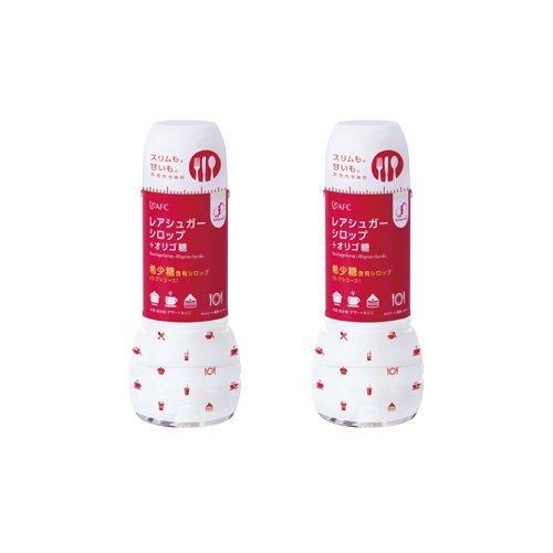 【AFC公式ショップ】 希少糖含有(D−プシコース)レアシュガー シロップ+ オリゴ糖 400g (エーエフシー 甘味料)2個セット