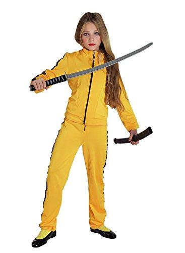 chiber Disfraces Disfraz de Kill Bill para niña (Talla 6)