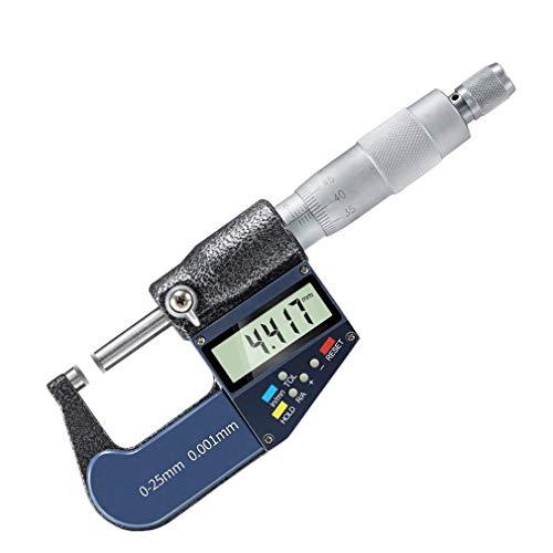 WANGIRL 25mm 0,001mm elektronisches digitales Mikrometer Micron außerhalb der Mikrometer-Dickenmessung elektronische Messwerkzeuge LOLDF1