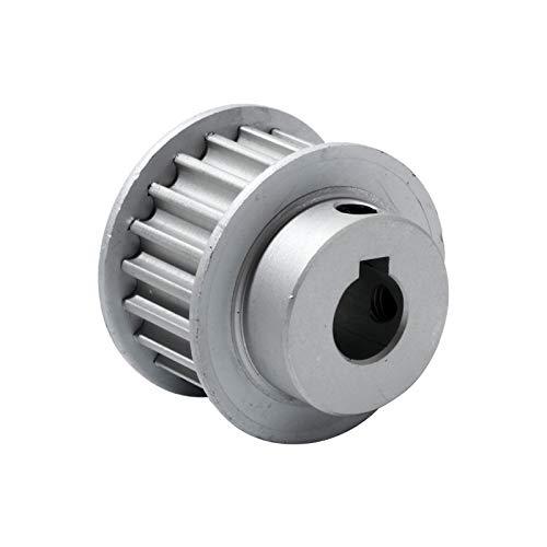 XBaofu 1pc Polea HTD5M-20T con chavetero Polea de transmisión 16 mm Anchura de la Correa 8/10 / 12/12,7/14/15 mm Diámetro 5M 20Teeth Gear Polea (Color : Bore 12mm Key 5x2.3, tamaño : 16mm)