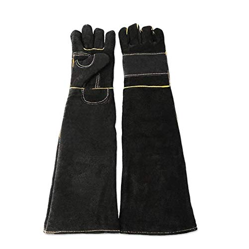 Tierhandhabungshandschuhe Tierhandhabung Anti-Biss- / Kratzhandschuhe, sichere und dauerhafte Handschuhe, Katzen-Kratzer, Vogel-Handling Falcon-Handschuhe packen, Reptilien-Eichhörnchen Schlangenbiss