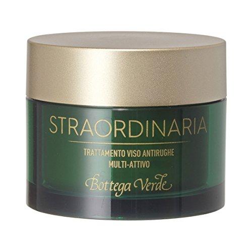 Bottega Verde -Trattamento Straordinaria viso antirughe multi-attivo (50 ml) - formula 100% attiva