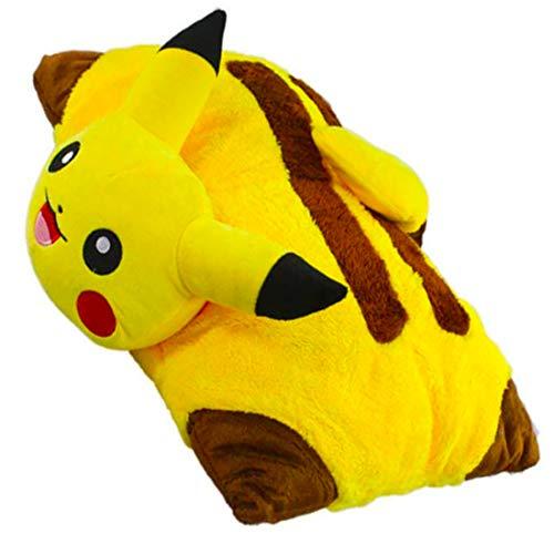 Soft Plush P-K-C Pillow, Foldable Cartoon Pillow,Give People a Sense of Comfort