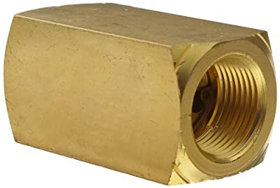 "Parker 003393004 339 Series Brass Check Valve, 3/4"" NPT Female by Parker Hannifin"