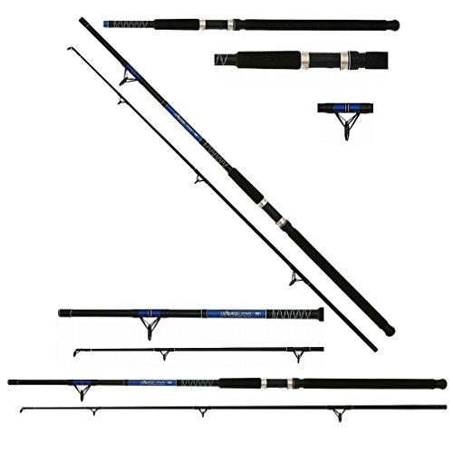 Mikado Pilkrute Wallerrute Hechtrute Fish Hunter SEA PILK Wurfgewicht 300g in den Längen 2,10m, 2,40m, 2,70m und 3,00m erhältlich (Länge 2,70m / Gewicht 453g)