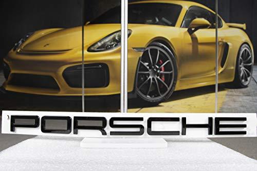 Porsche Boxster/Cayman 981 GTS/Black Edition - Reloj de pulsera, color negro brillante