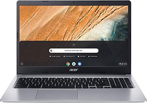 Acer 15.6inch FHD(1920x1080) IPS Touchscreen Chromebook, Intel Celeron Dual Core N4020 Processor Up to 2.80GHz, 4GB LPDDR4 RAM, 64GB SSD, Numeric Keypad, Chrome OS-(Renewed)