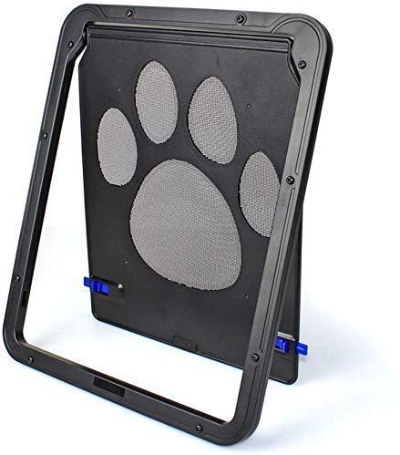 8bayfa Haustiertür Katzenklappe Adapter Magnet Haustier-Tür-Dog-Fenster Automatische abschließbaren Tor for Innen Außen