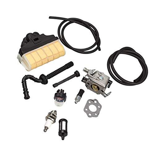 Sharplace Carburateur avec Kit de Repower Filtre à Air Ampère amorce Bougie d'allumage