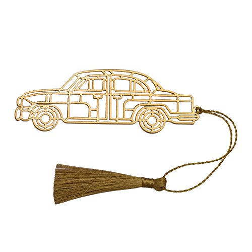 Vintage Car Book Mark Bookmarks Metal Paper Stationery Clip School Gift Office