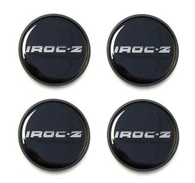 The Parts Place Chevrolet Camaro Iroc-Z Center Cap Emblems Insert Set - Silver