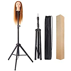 powerful Eerya Mannequin Head Tripod Stand Metal high performance adjustable wig stand for canvas blocks …