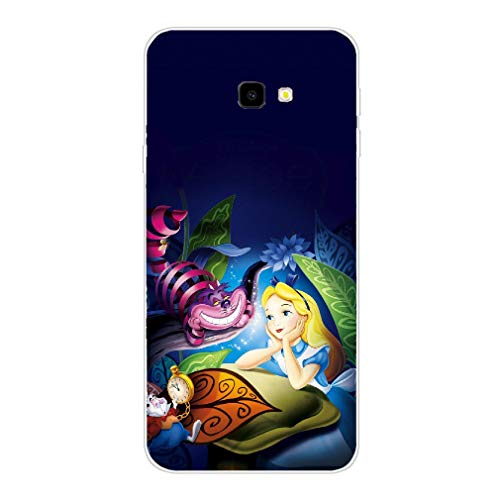 rebecc Alice in Wonderland TPU Transparent Phone Case for Cover Samsung Galaxy S7 Clear-Case-260