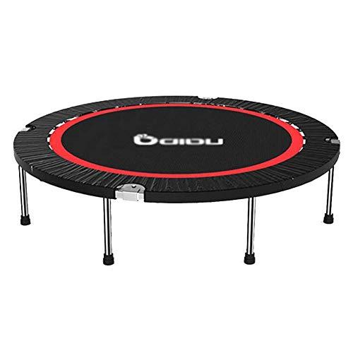 Indoor vouwtrampoline, 50 Inch Oefening Trampoline Voor Kinderen Volwassenen, Mini Fitness Trampoline - Max Load 300KG