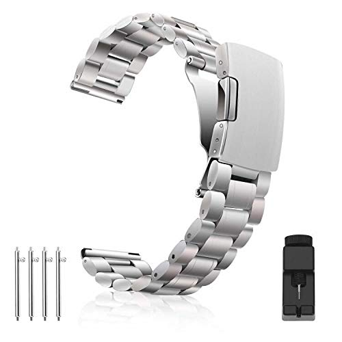 Vetoo 01 Watch Bands,for Moto 360 2nd Gen 46mm, Pebble Time, Time Steel, Classic, ASUS ZenWatch WI500Q, WI501Q, Samsung Gear 2 R380, Neo R381, Live R382, LG G Watch W104, Urbane,