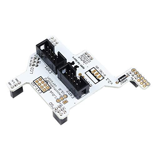 kesoto 3D Printer Accessories Engraving Machine Smoothieboard 5x v1.1 GLCD Adapter Mainboard Part Repair