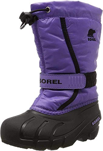 Sorel Childrens Flurry, Kinder Schneestiefel, Violett (Paisley Purple/black), 25