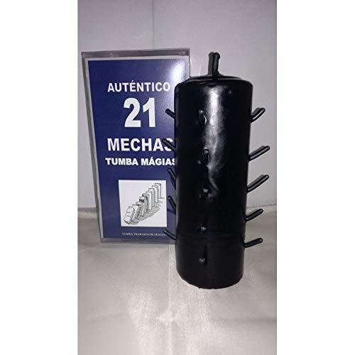 Velas AUTENTICO VELON 21 MECHAS Color Negro
