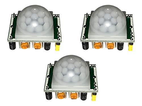 DIY 3pc HC-SR501 PIR Motion Detection Sensor for Arduino and Pi