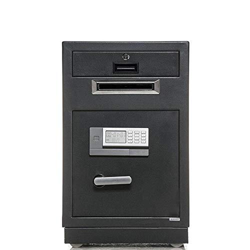 TYJKL Caja Fuerte Digital Electronic Safe Box Drop Drop Depósito Seguro para Venta al por Menor Seguridad de Negocios Bóveda Caja de depósito Caja Fuerte almacenar Documentos Importantes
