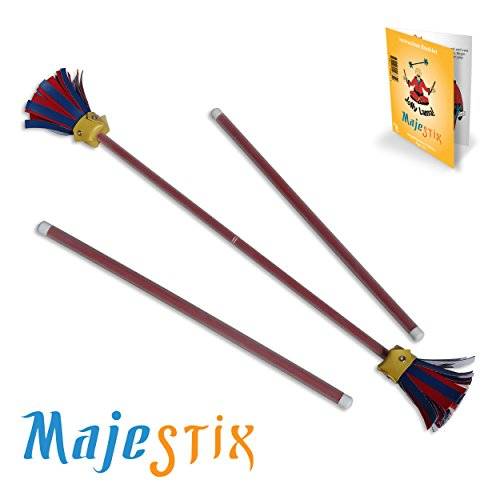 Red Majestix Juggling Sticks Devil Sticks