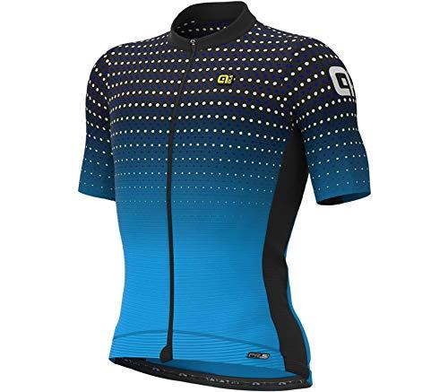 Alé Cycling PR-S Bullet Kurzarm Trikot Herren blau/schwarz Größe L 2021 Radtrikot kurzärmlig