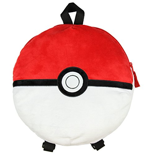 Pokemon 12' Pokeball Plush Backpack