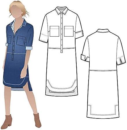 Patr/ón de costura para camisa y vestido Style Arc
