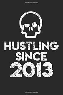 Hustling Since: 2013: Motivational Journal Gift for Entrepreneur or Self Employment Business hustlers. Lined Notebook Journal, 110 Pages.
