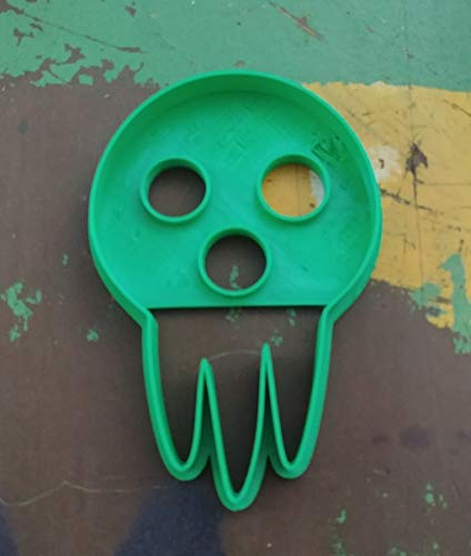 3D Printed Cookie Cutter Inspired by the Soul Eater Death's Mask