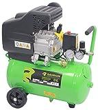 SAURIUM - Compresor de Aire - Monobloco - 24L 1.5HP - Cabeza de grandes dimensiones com más producion de aire