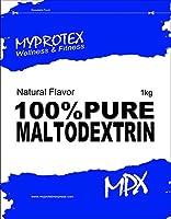 MPX 100% ピュアマルトデキストリンパウダー (100% Maltodextrin) マイプロテクス グルコースポリマーパウダー (ナチュラル, 1kg)