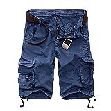 2021 Verano de los Hombres Cortos de Moda a Cuadros de Playa Pantalones Cortos para Hombre Casual Camuflaje Pantalones Cortos Militares Pantalones Cortos Masculinos Bermudas Cargo