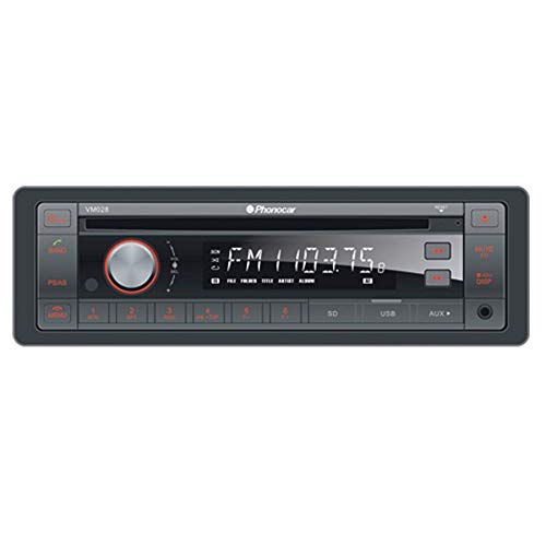 Phonocar autoradio CDMP3USB, Bluetooth, VM028 24 V