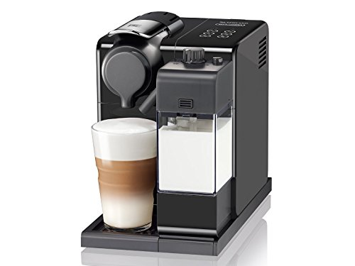 De'Longhi Lattissima Touch EN560.B Nespresso Coffee Machine, Plastic, 1400 W, Black