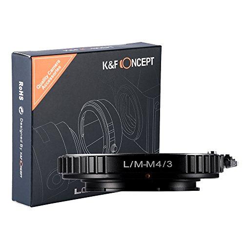 マウントアダプター マイクロフォーサーズ LM-M4/3 K&F ConceptR ライカMマウントレンズ-マイクロフォーサーズマウントボディ用 LMレンズ- M4/3カメラ装着用レンズアダプターリング