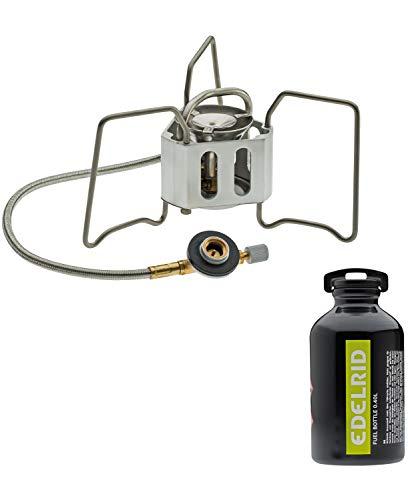 Edelrid Unisex– Erwachsene Kochgerät Hexon Multifuel, Silver, Extra klein