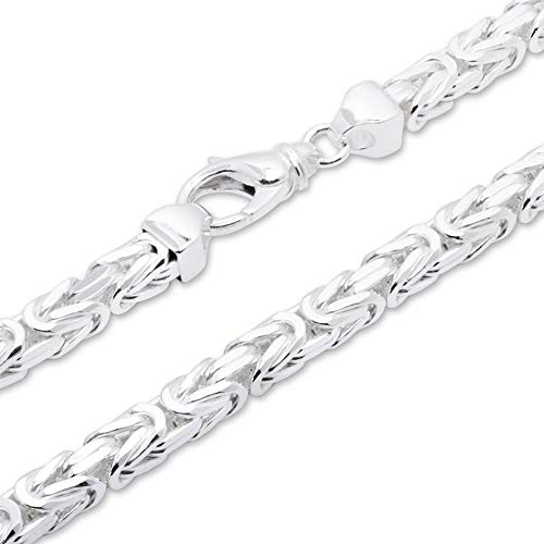 925 Silberkette: Königskette Silber 7,5mm breit - Länge frei wählbar KK0075