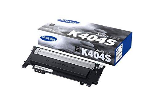 Original Samsung CLT-K404S / K404S, für Xpress C 430 Series Premium Drucker-Kartusche, Schwarz, 1500 Seiten