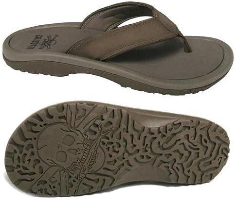 Calcutta Men's Slider CS3863BRN-9 Squall Sandal Driftwood Non Slip Sole Size 9