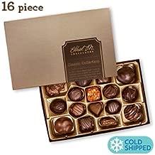 Ethel M. Chocolates Classic Collection Candy Gift Box 16Piece Premium Chocolate Assortment